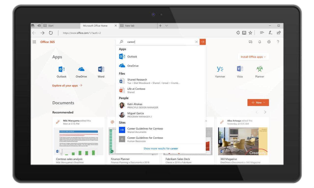 Microsoft förenar sina sökfunktioner