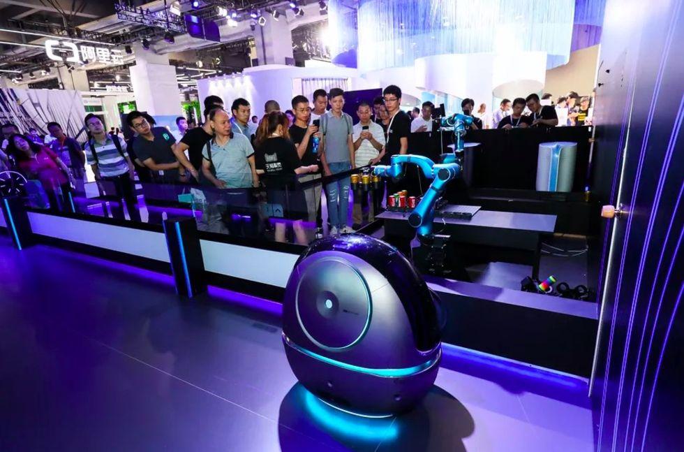 Alibaba har gjort en robot för hotell