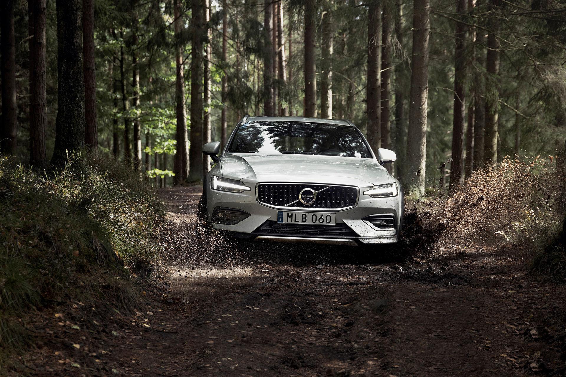 Volvo rullar ut V60 i Cross Country-kostym