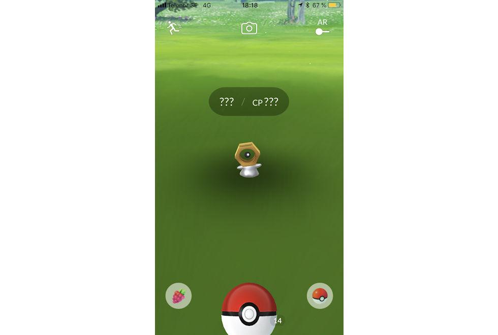 Meltan är en ny Pokémon