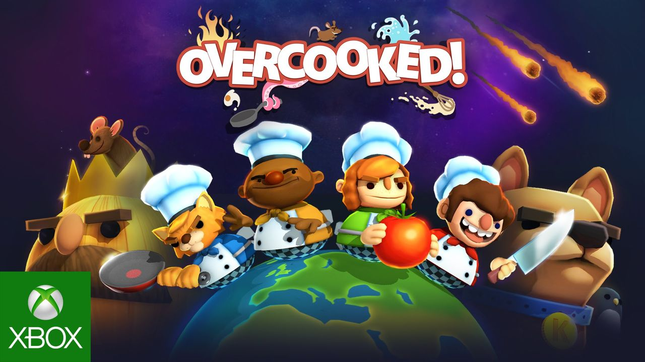 Overcooked gratis med Games with Gold i oktober