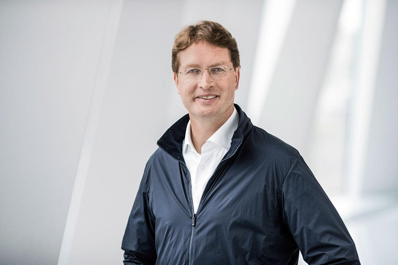 Ola Källenius tar över efter Dieter Zetsche