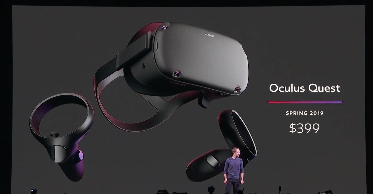 Oculus presenterar Oculus Quest