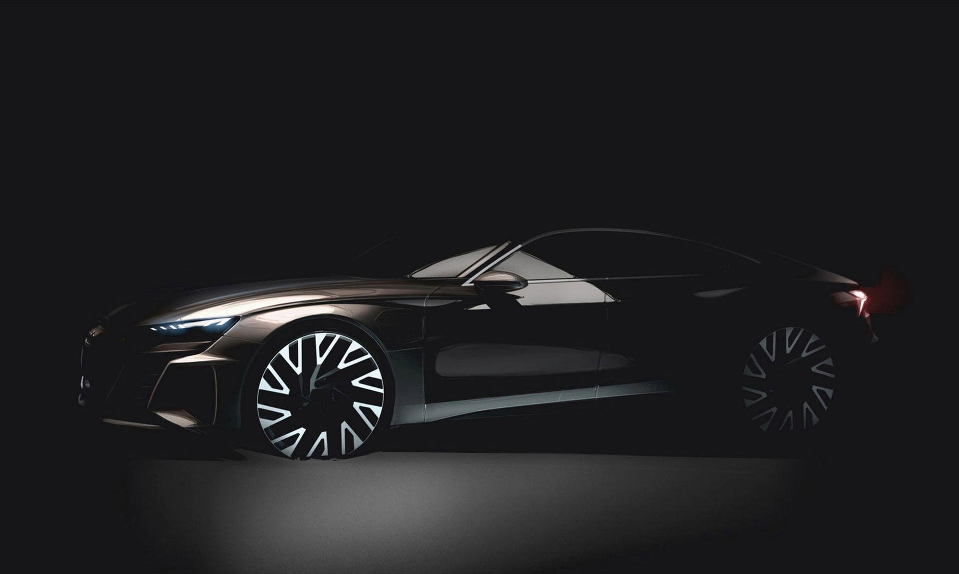 Audis kommande e-tron GT kan ladda 80 procent på 12 minuter