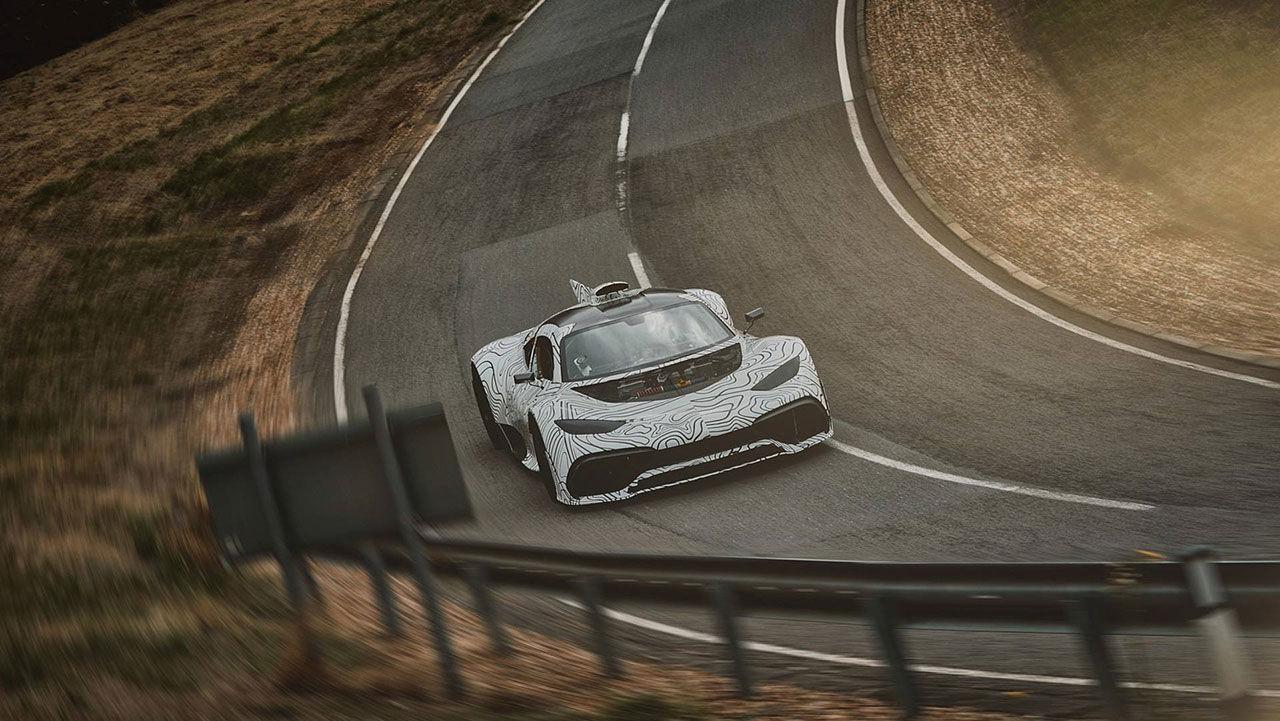 Mercedes-AMG:s kommande superbil byter namn