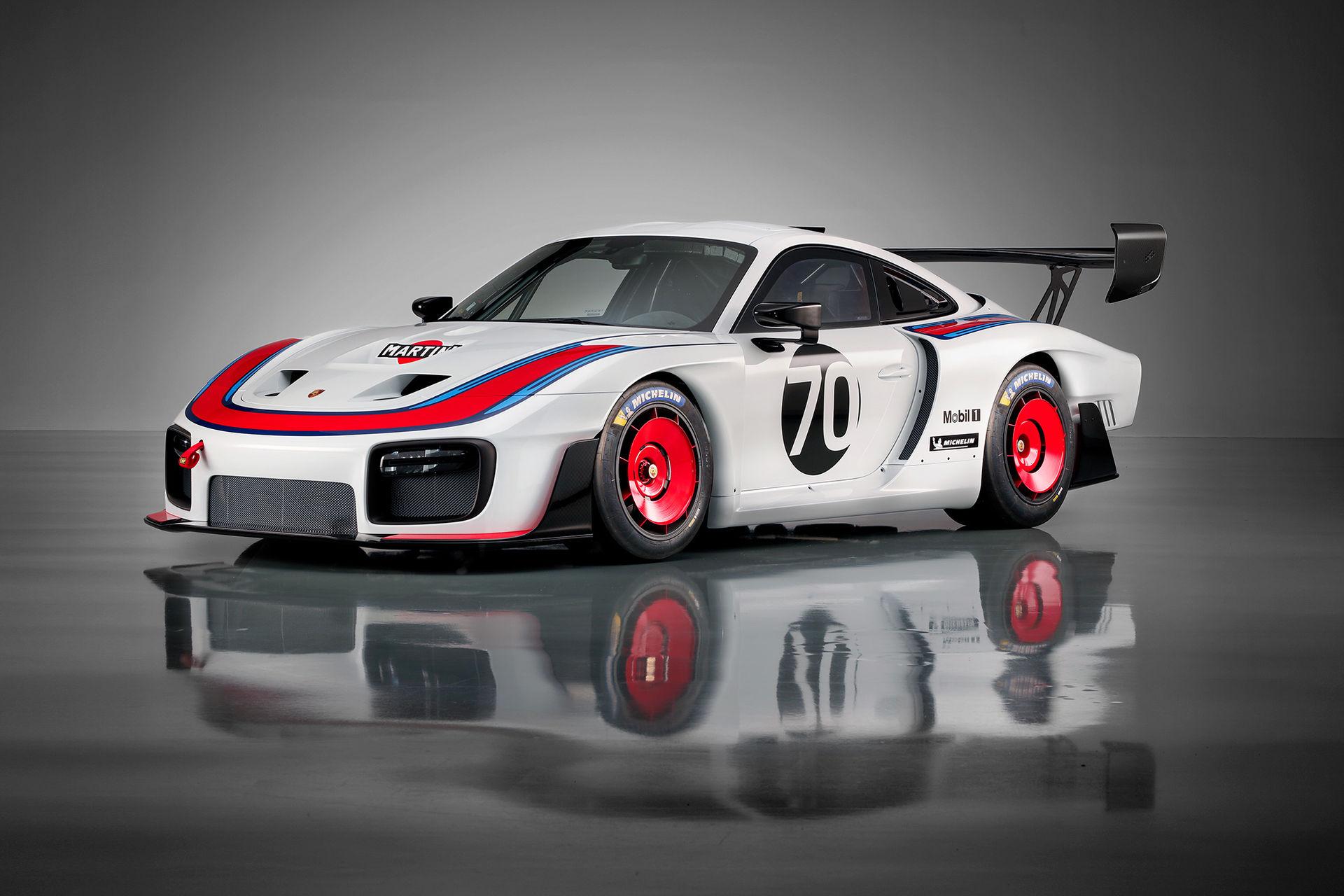 Porsche överraskar med ny 935