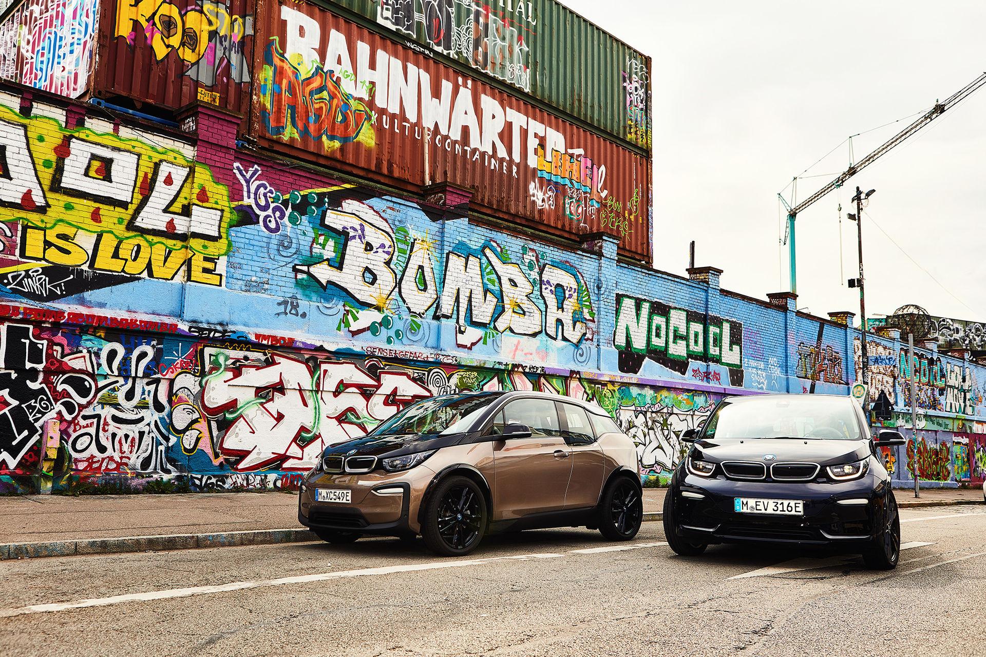 BMW i3 får större batteri och längre räckvidd