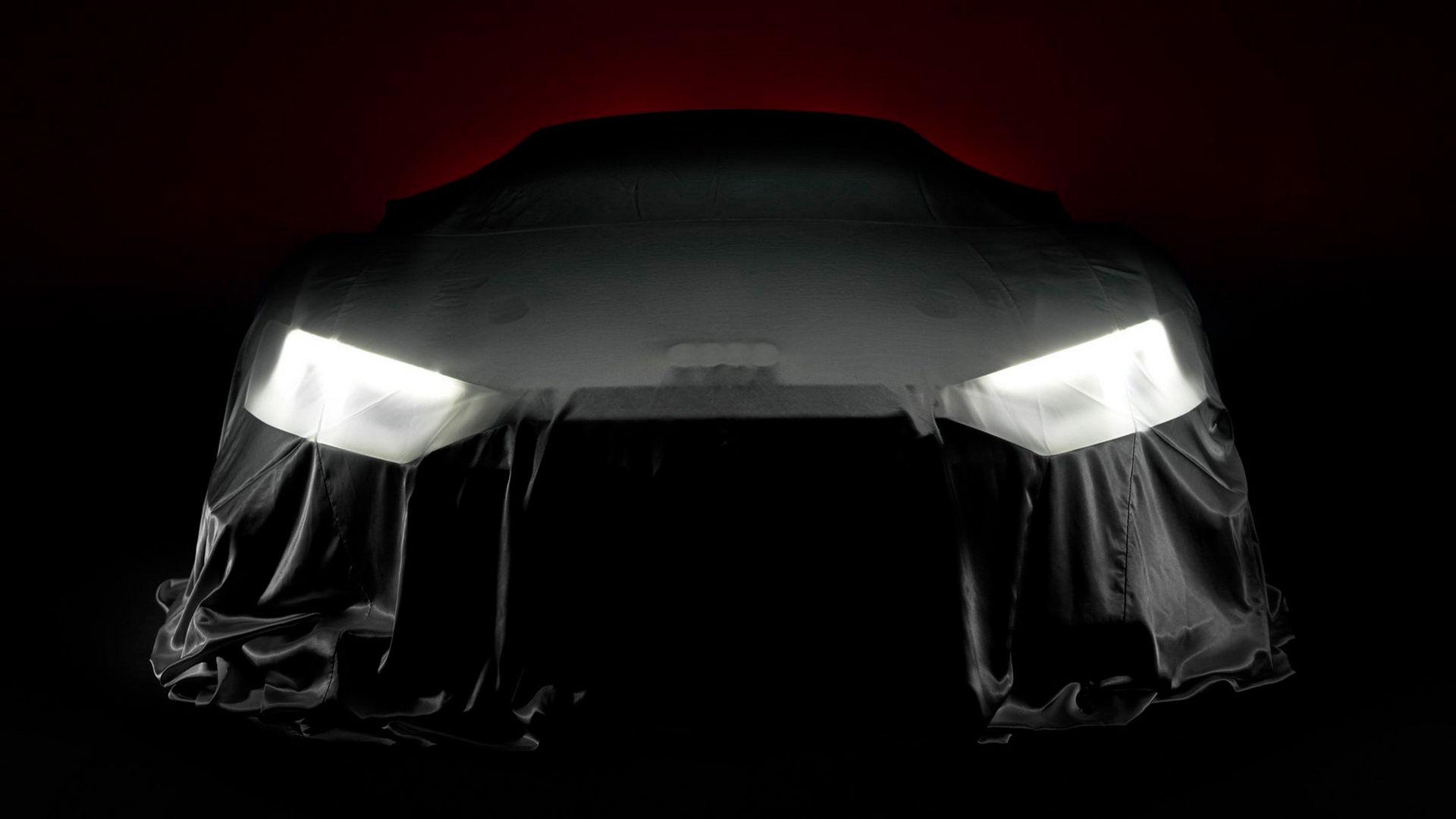 Mystisk Audi R8 kommer att visas i Paris
