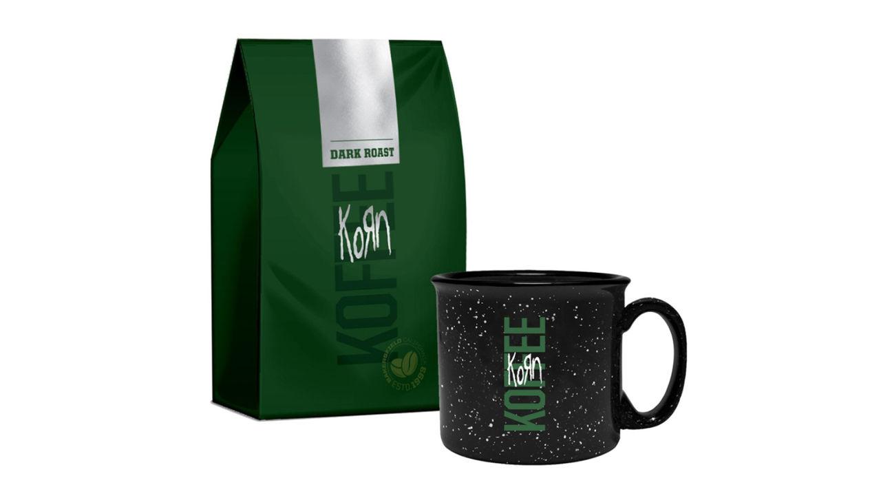 Metalbandet Korn har släppt kaffe