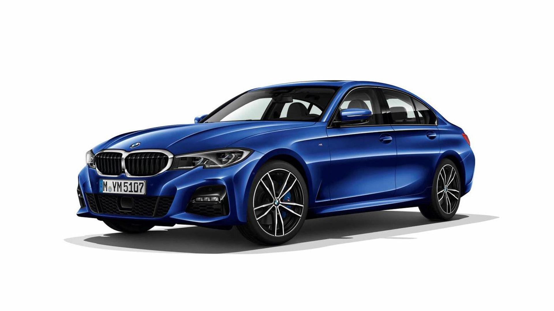 Nya BMW 3-serie läcker ut