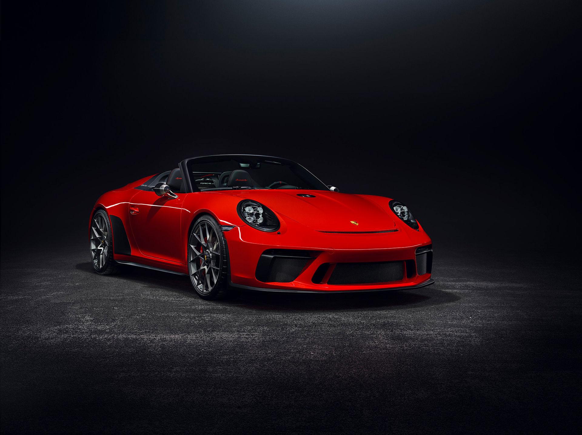 Nya Porsche 911 Speedster kommer att gå i produktion