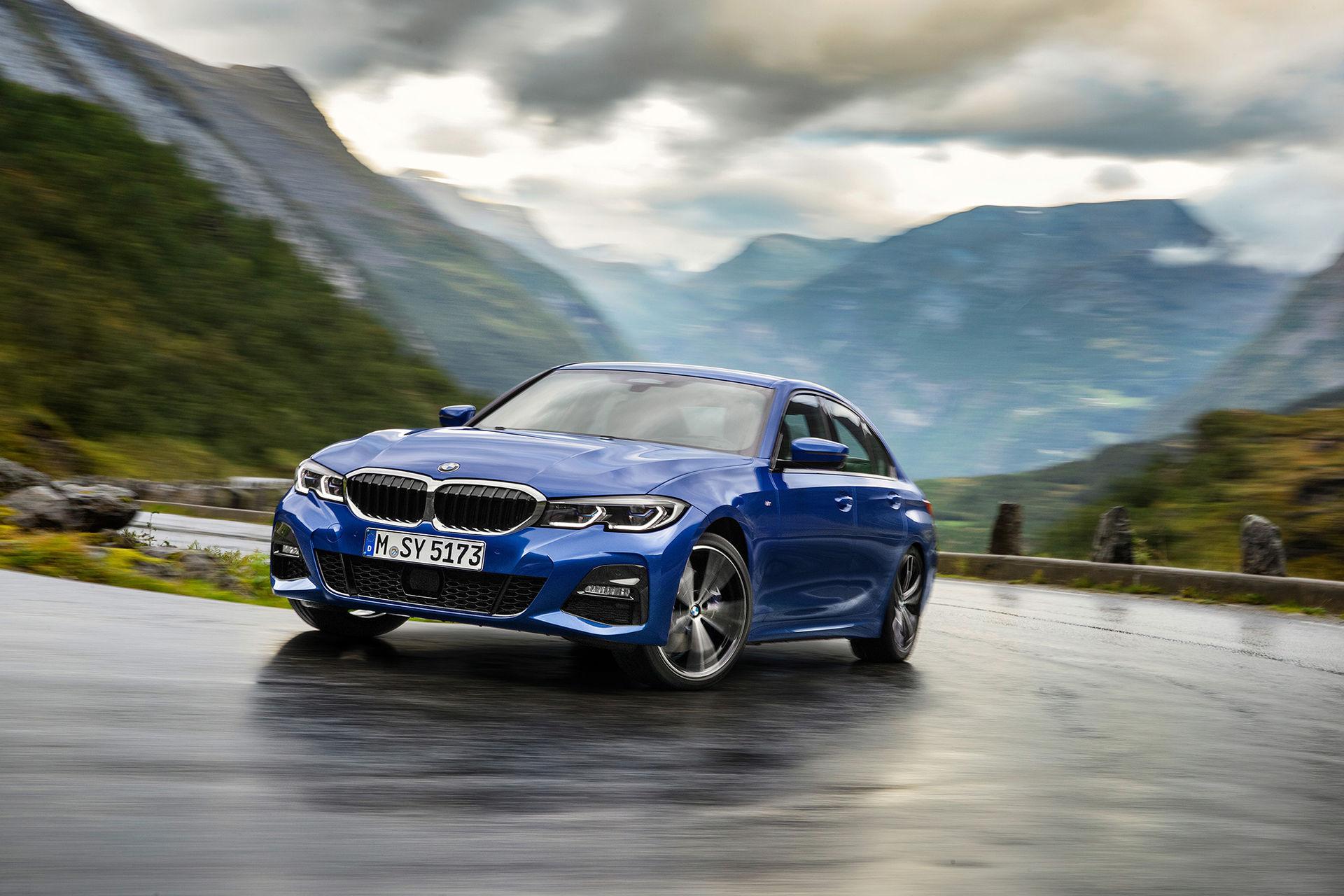 Den sjunde generationen av BMW 3-serie är här