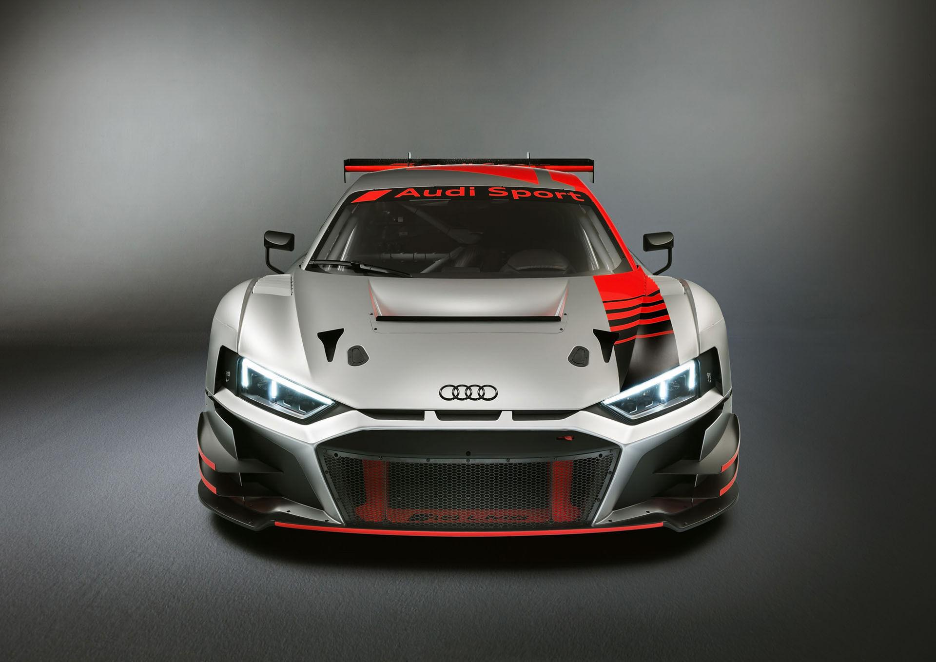 Det var en racerbil under Audis skynke