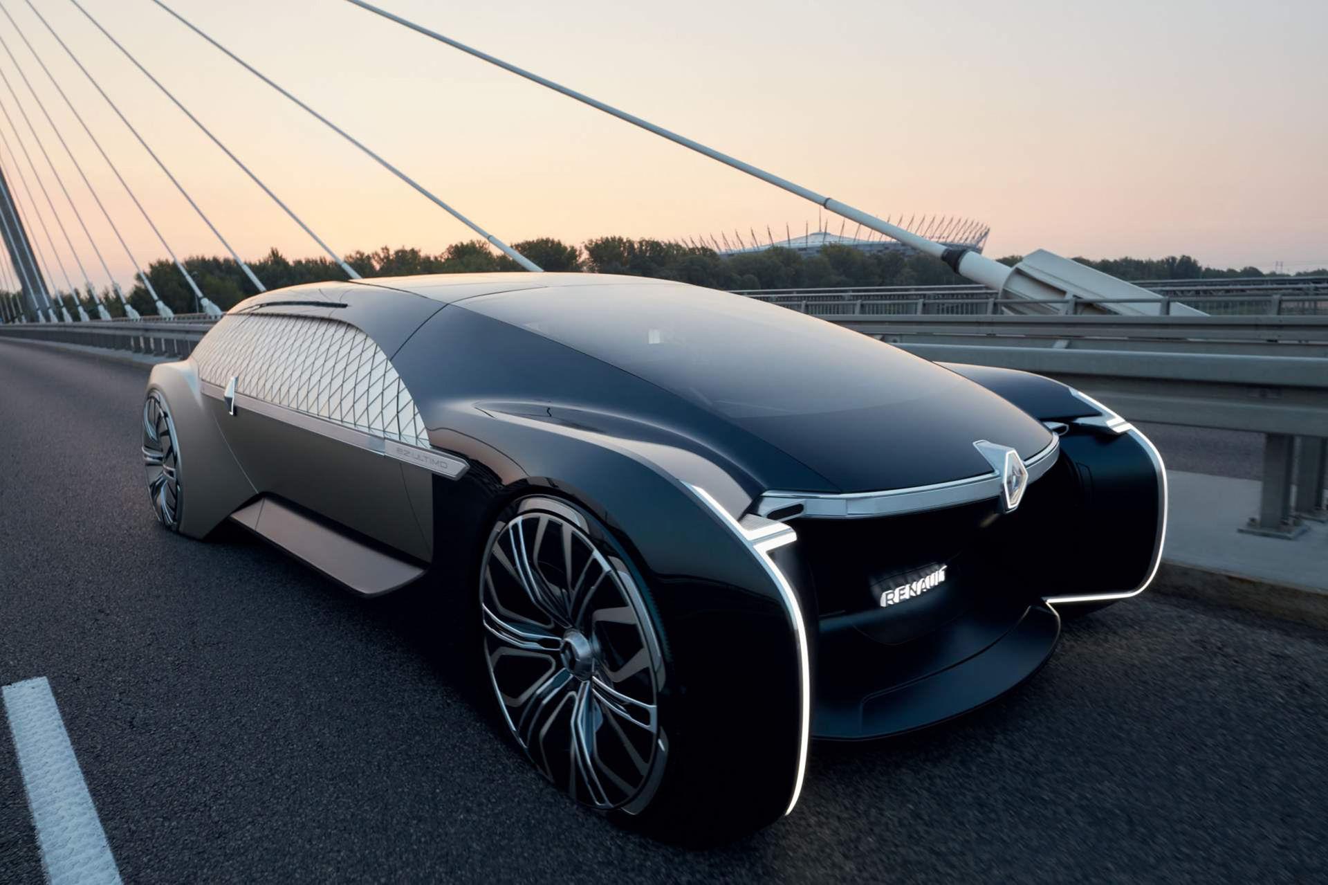 Maffigt självkörande koncept från Renault