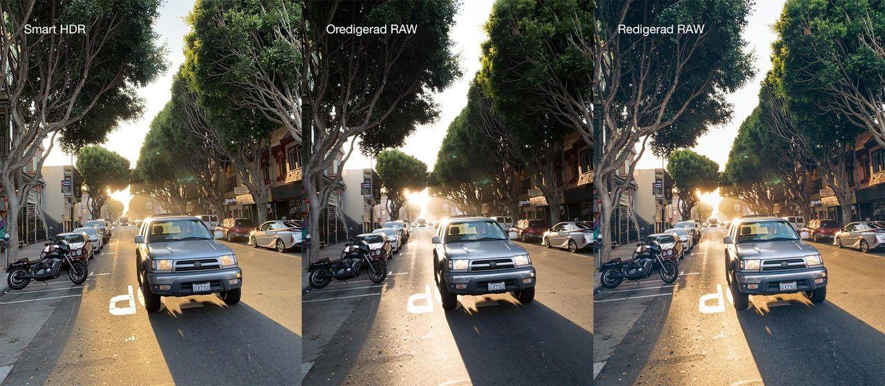 Kameran i iPhone Xs är (just nu) sämre för RAW-foton