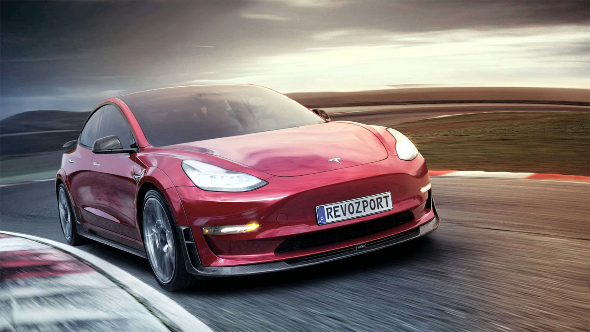 RevoZport presenterar kit till Tesla Model 3