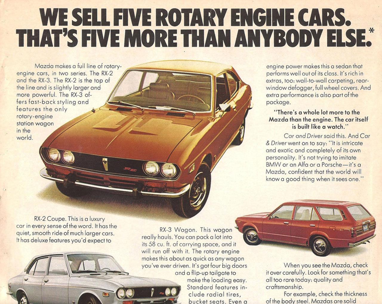 Mazdas Wankel-motorer återvänder