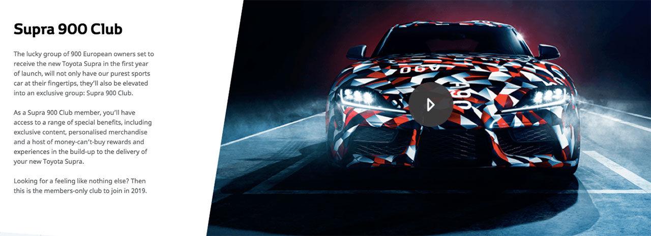 Nya Toyota Supra har premiär i Januari