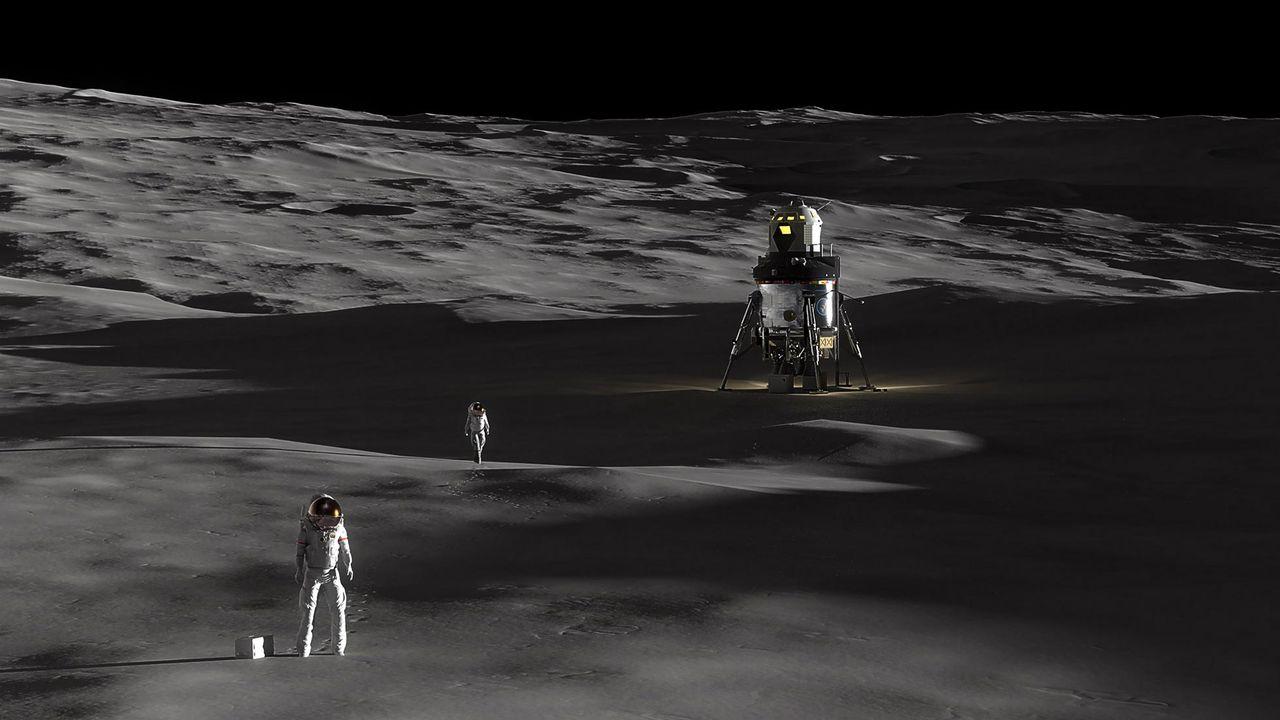 Lockheed Martin visar koncept på månlandare
