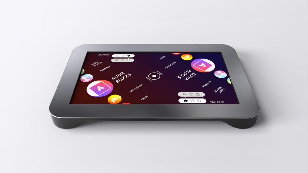 PlayTable är en konsol för hybrid-brädspel