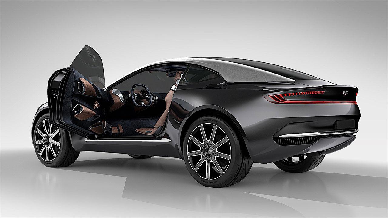 Aston Martins SUV får AMG-V8:a