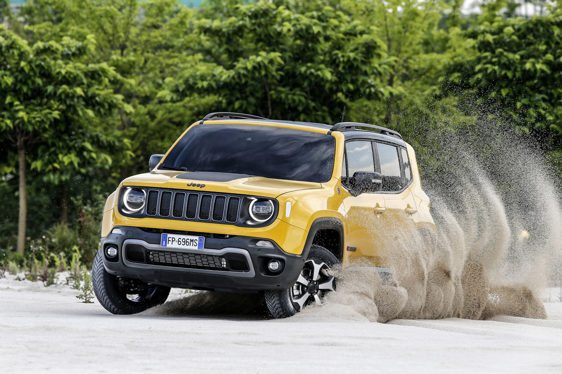 Jeep Renegade kommer som laddhybrid 2020