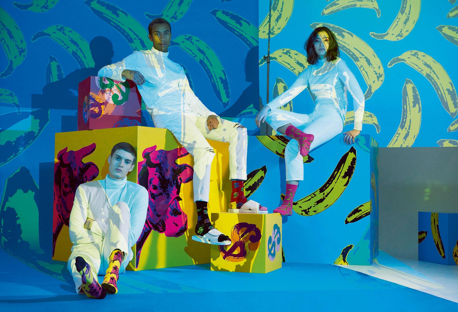 Happy Socks med inspiration från Andy Warhol
