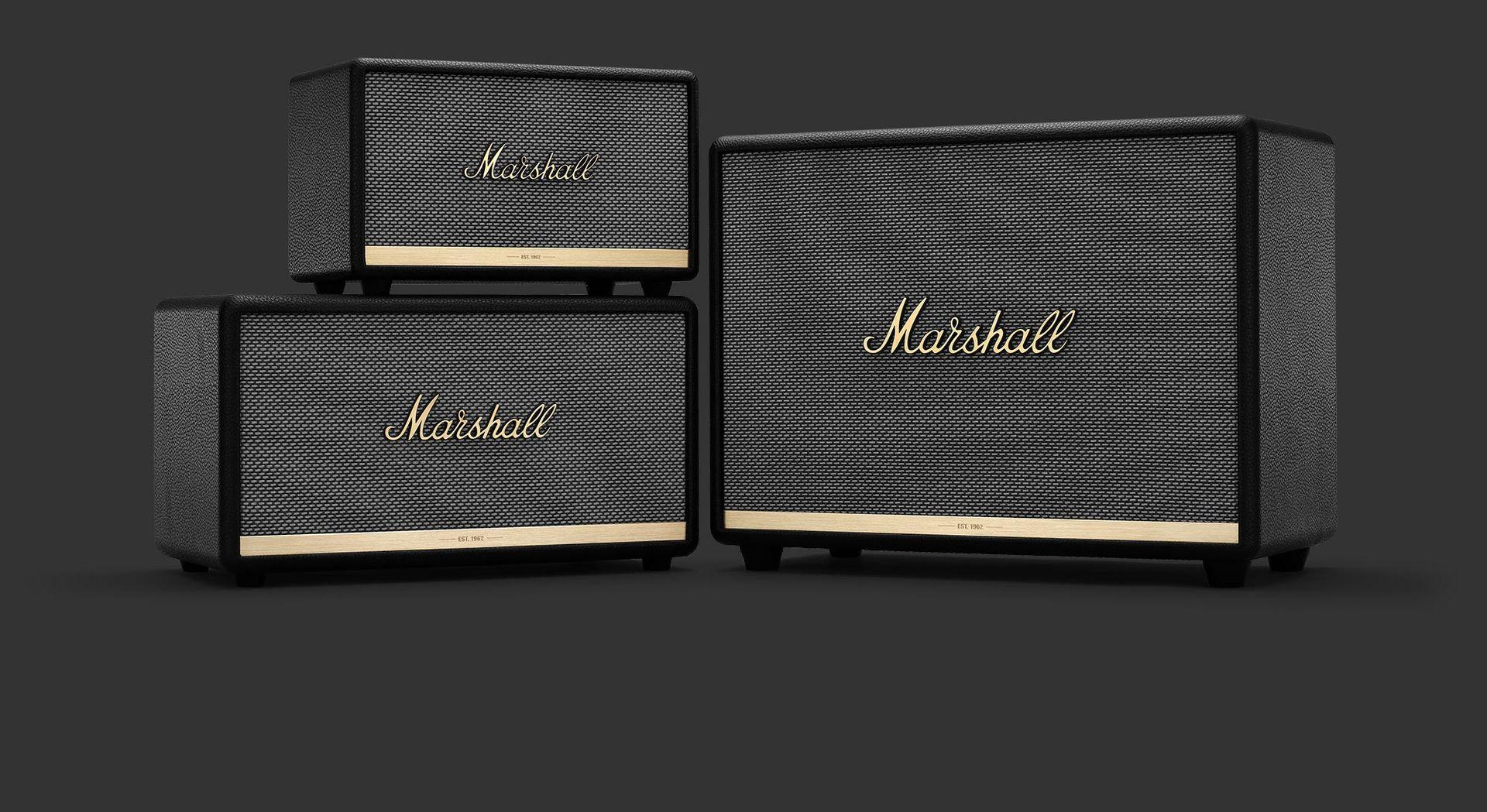 Marshall släpper nya blåtandslurar