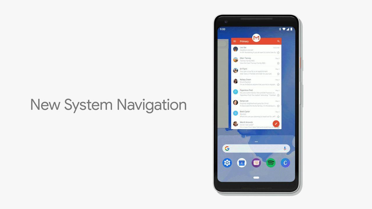 Den klassiska Android-navigeringen är död