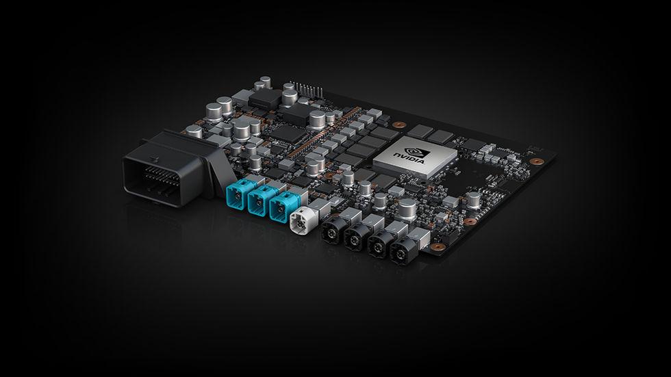Nvidia står för hjärnan i nästa generations Volvo-bilar