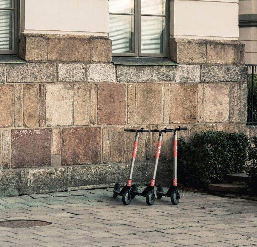 Stockholm Stad gillar inte sparkcyklar