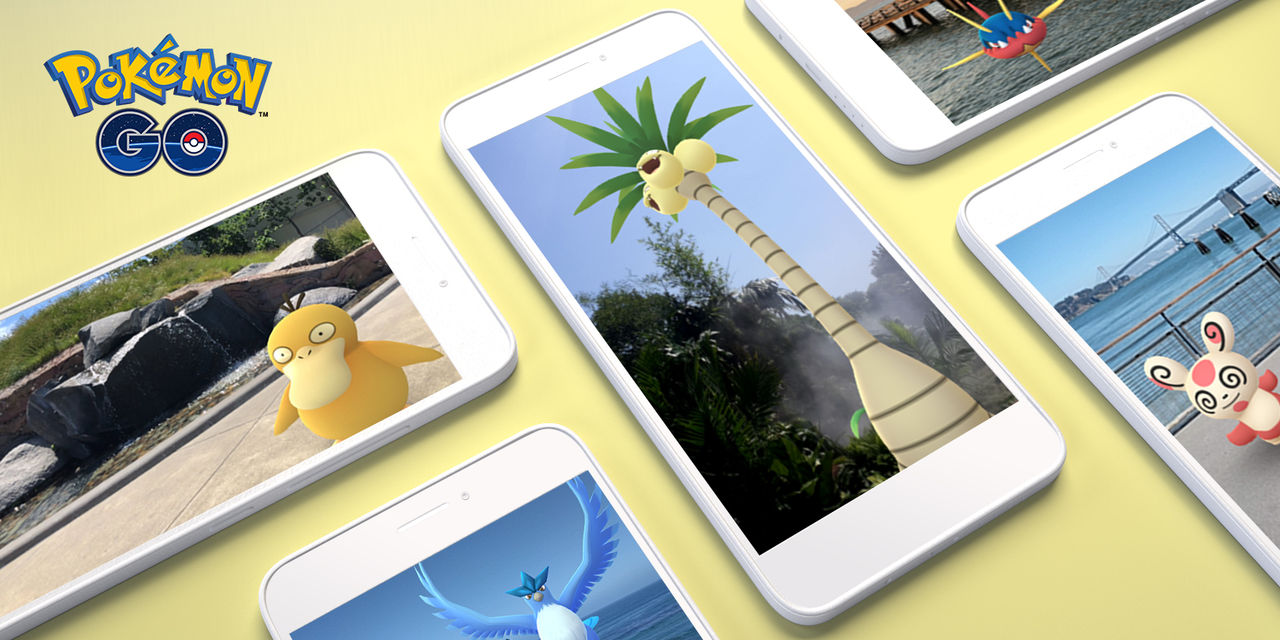 Android får stöd för Pokémon Go AR+