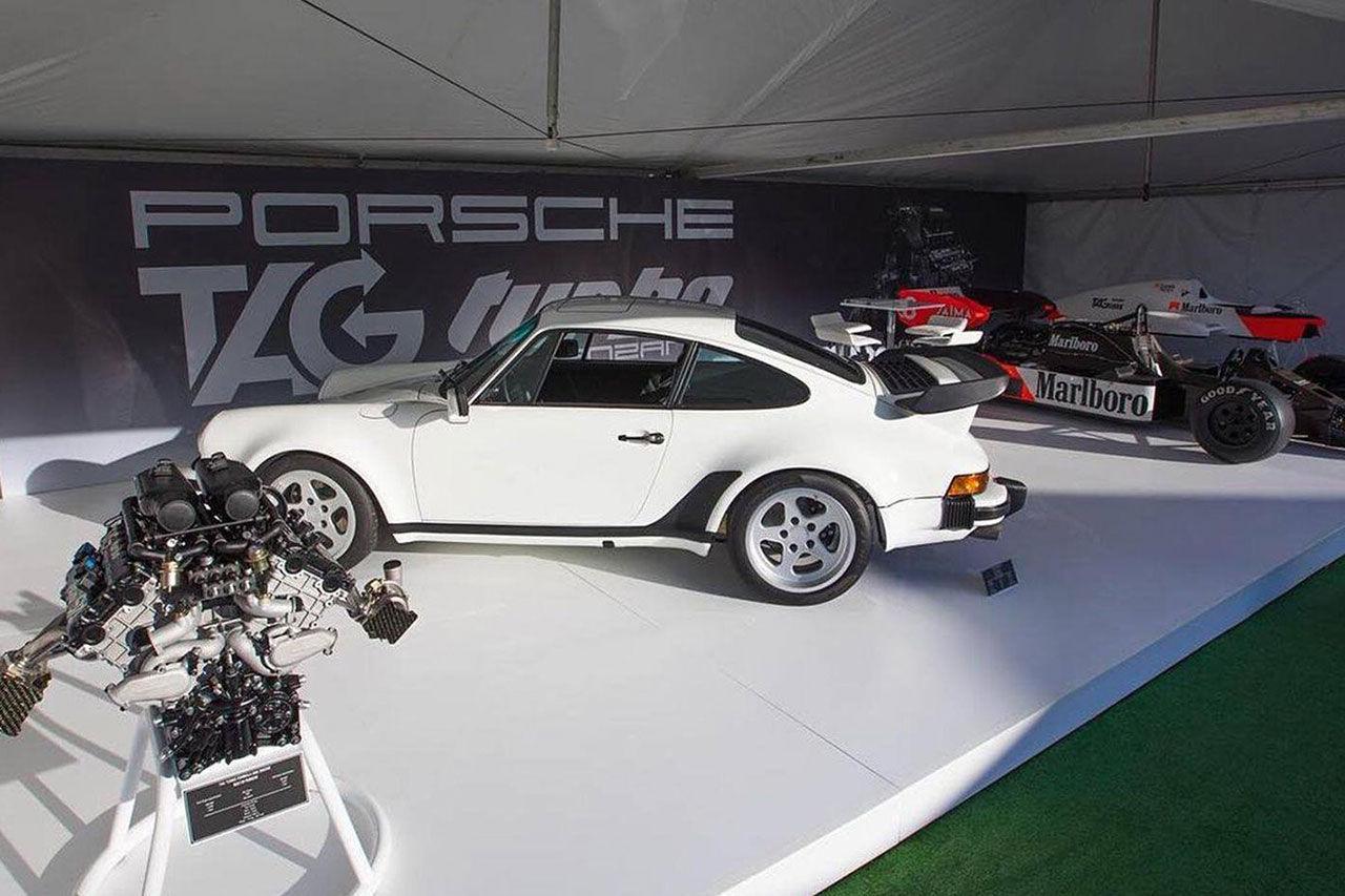 Klassiska Porsche 930 får F1-motor