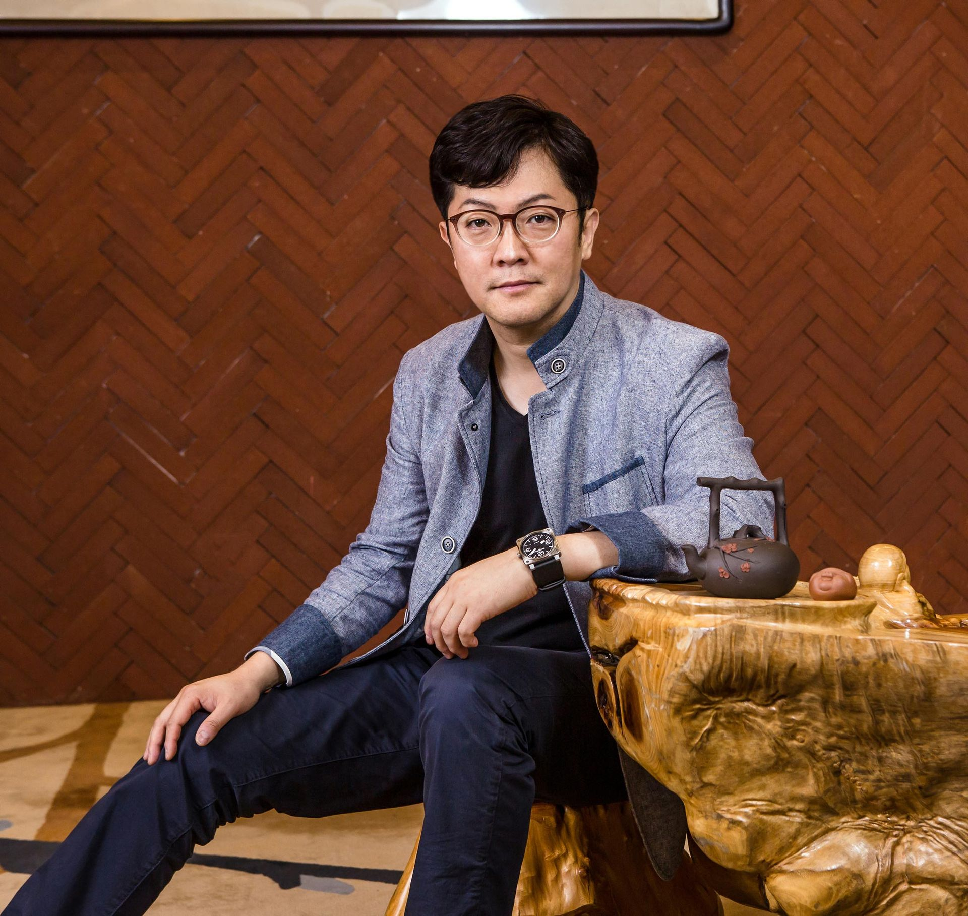 Vi har pratat med Huaweis designchef Joon Suh Kim