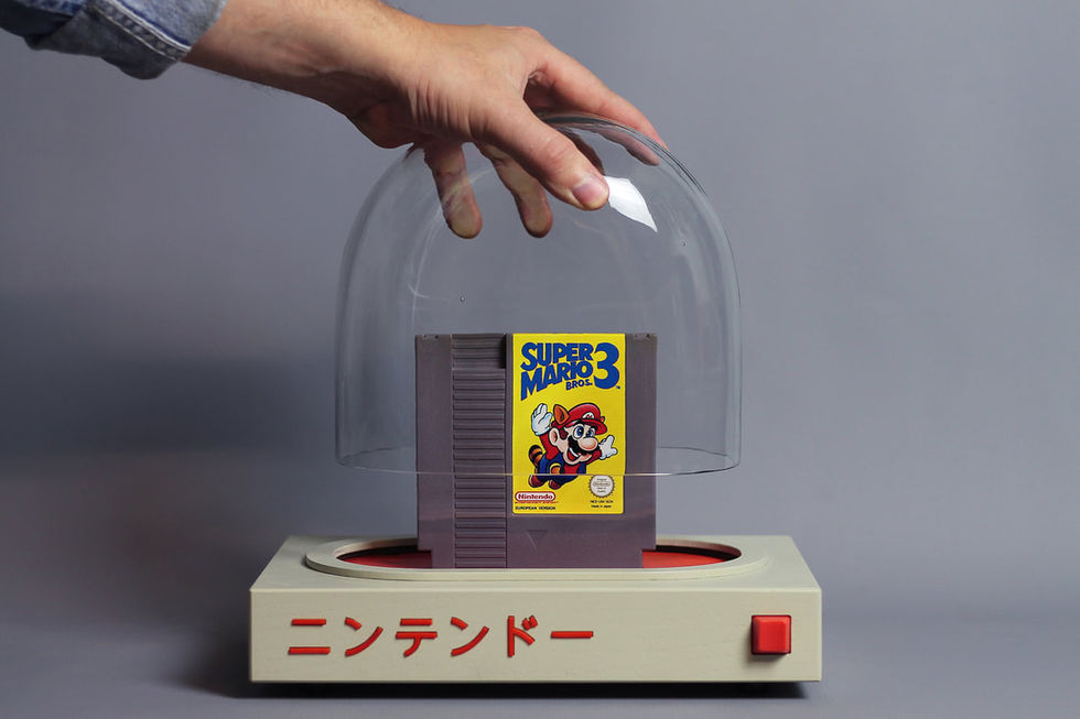 Spela NES-spel på retrokonsolen Pyua