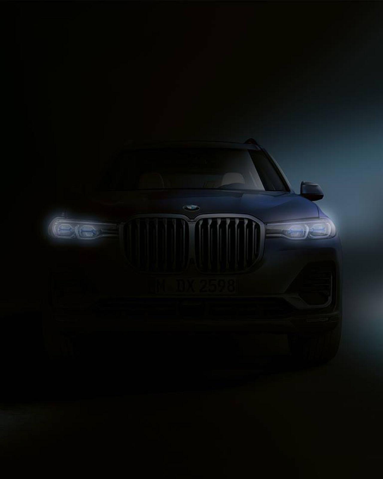 BMW teasar X7