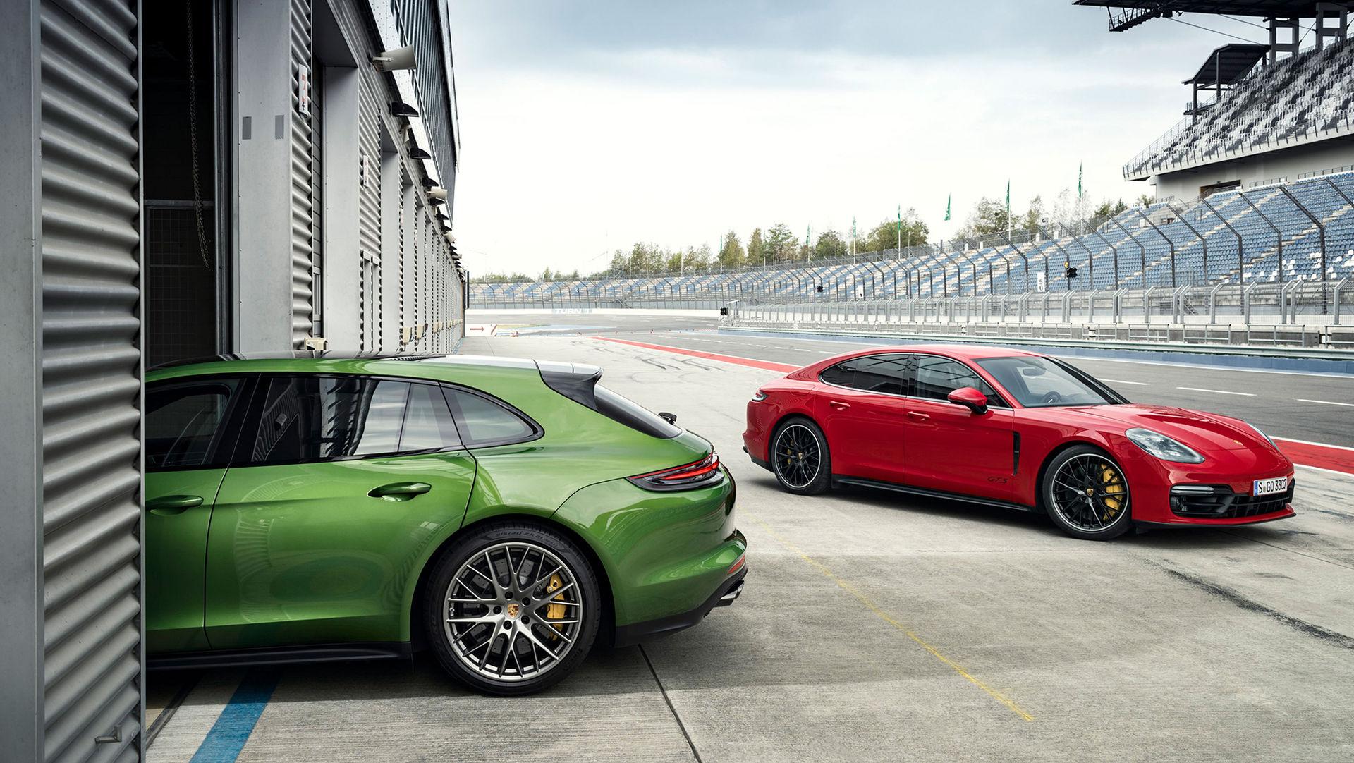 Porsche rullar ut nya Panamera GTS