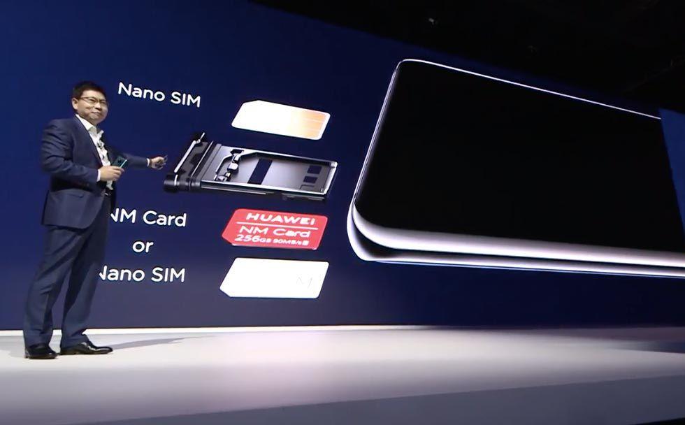 Huawei hittar på nytt minneskortformat