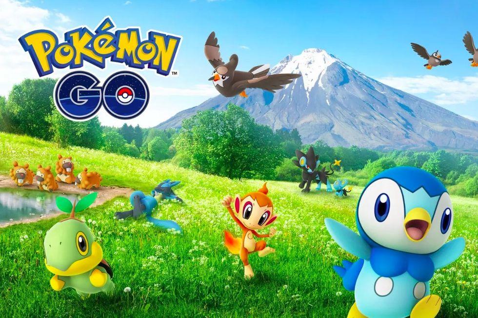 Fjärde generationens Pokémon släppt till Pokémon Go