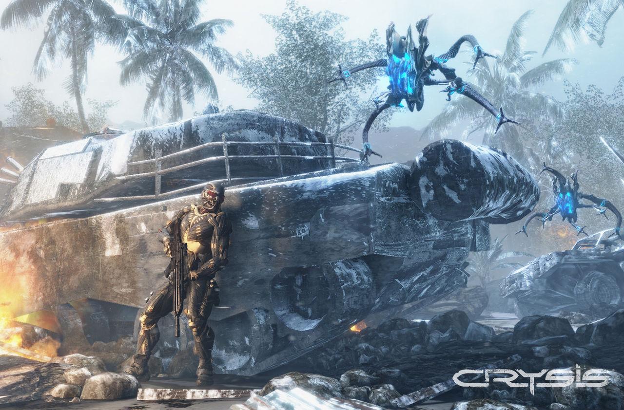 Crysis-trilogin nu spelbara på Xbox One