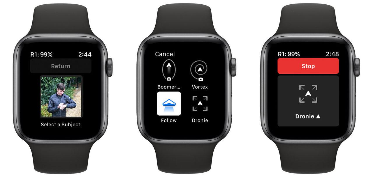Skydios drönare R1 får stöd för Apple Watch