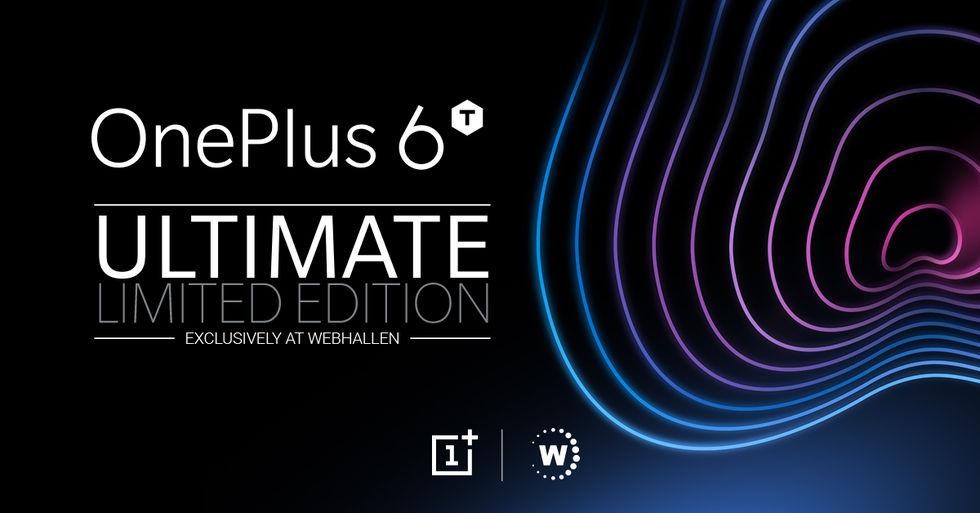 Webhallen släpper exklusivt OnePlus 6T-paket. Levereras en dag innan ... 61003c7ab8275