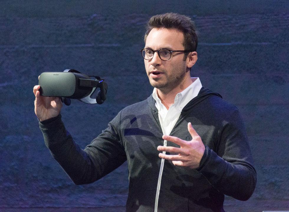 Oculus-grundare lämnar Facebook