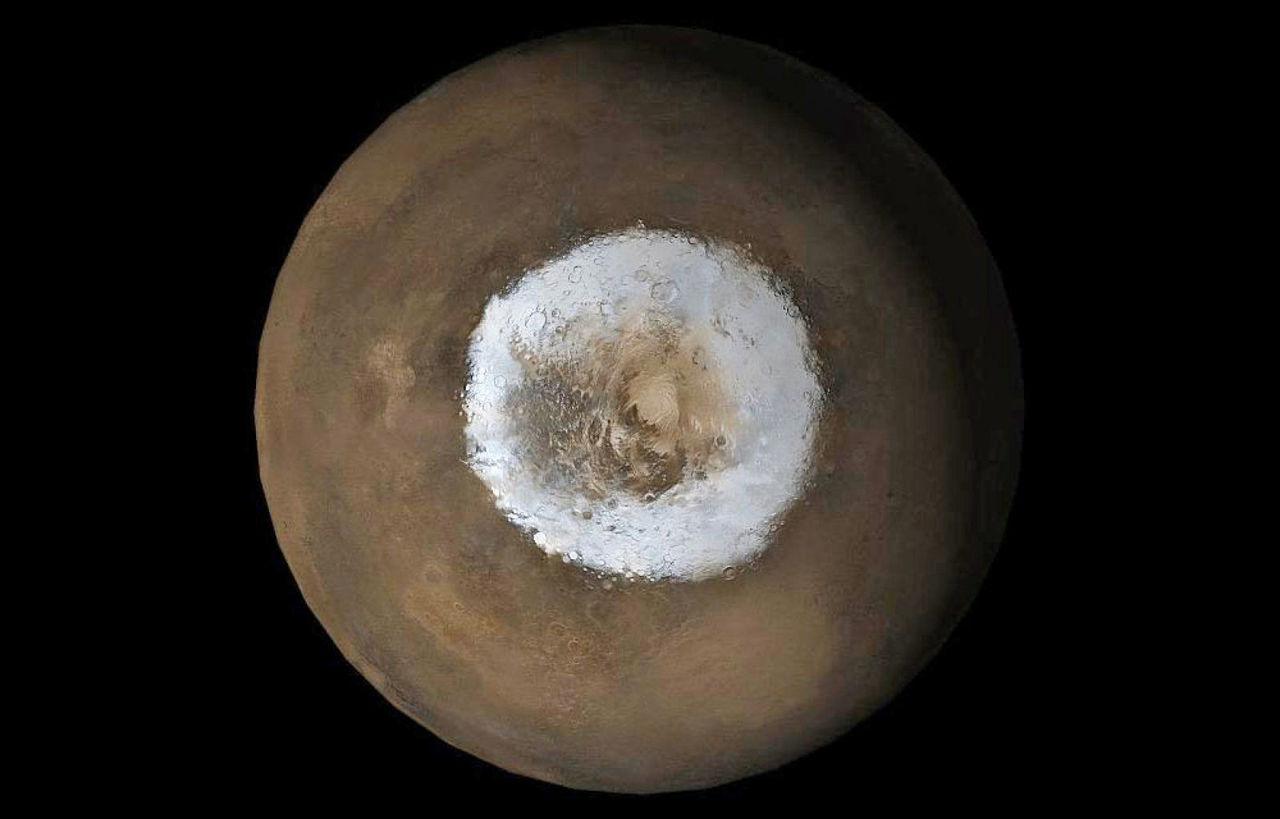 Det kan finnas syre under ytan på Mars