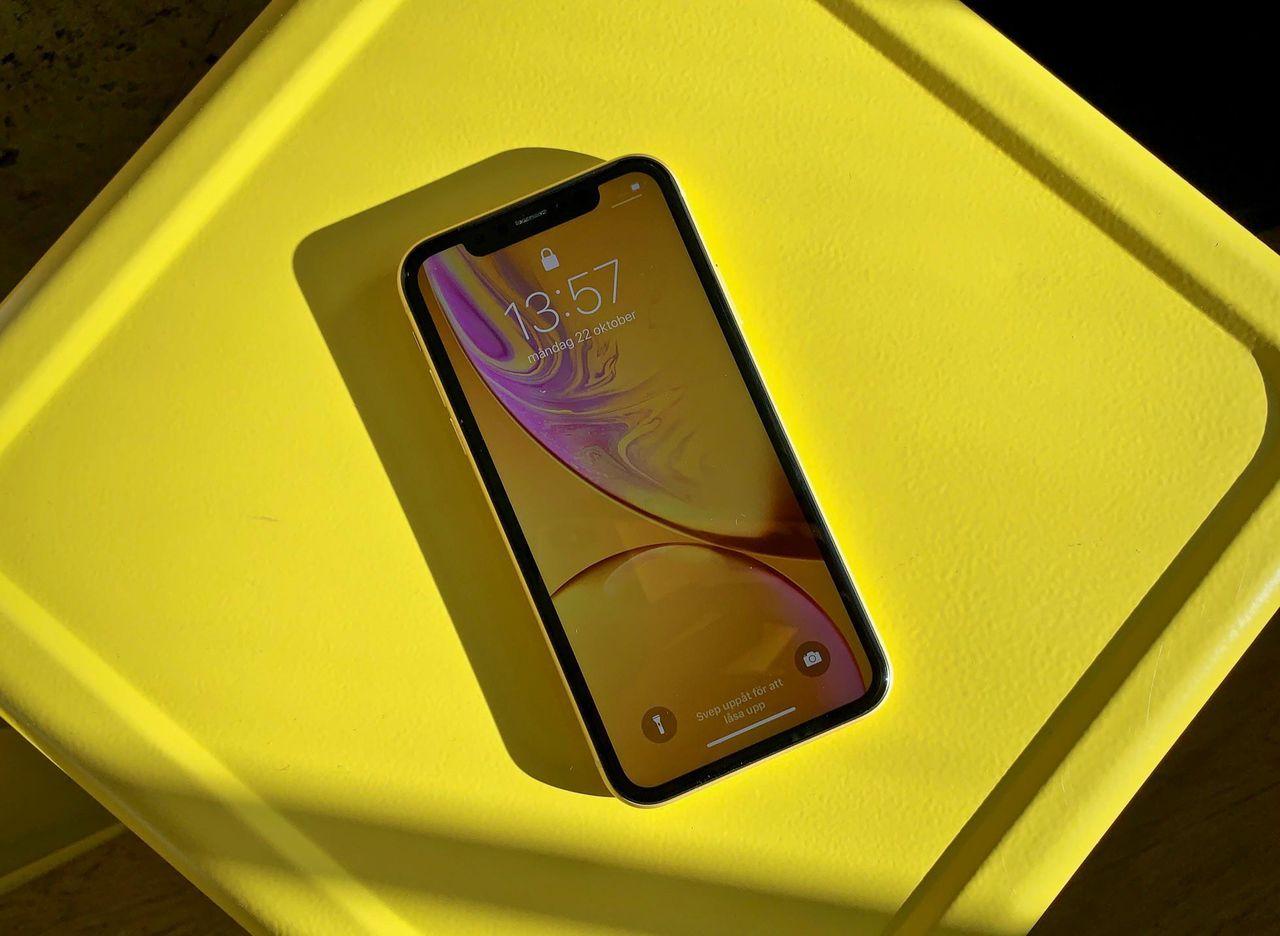 Det kommer att kosta 2400 kronor att byta skärm på iPhone XR