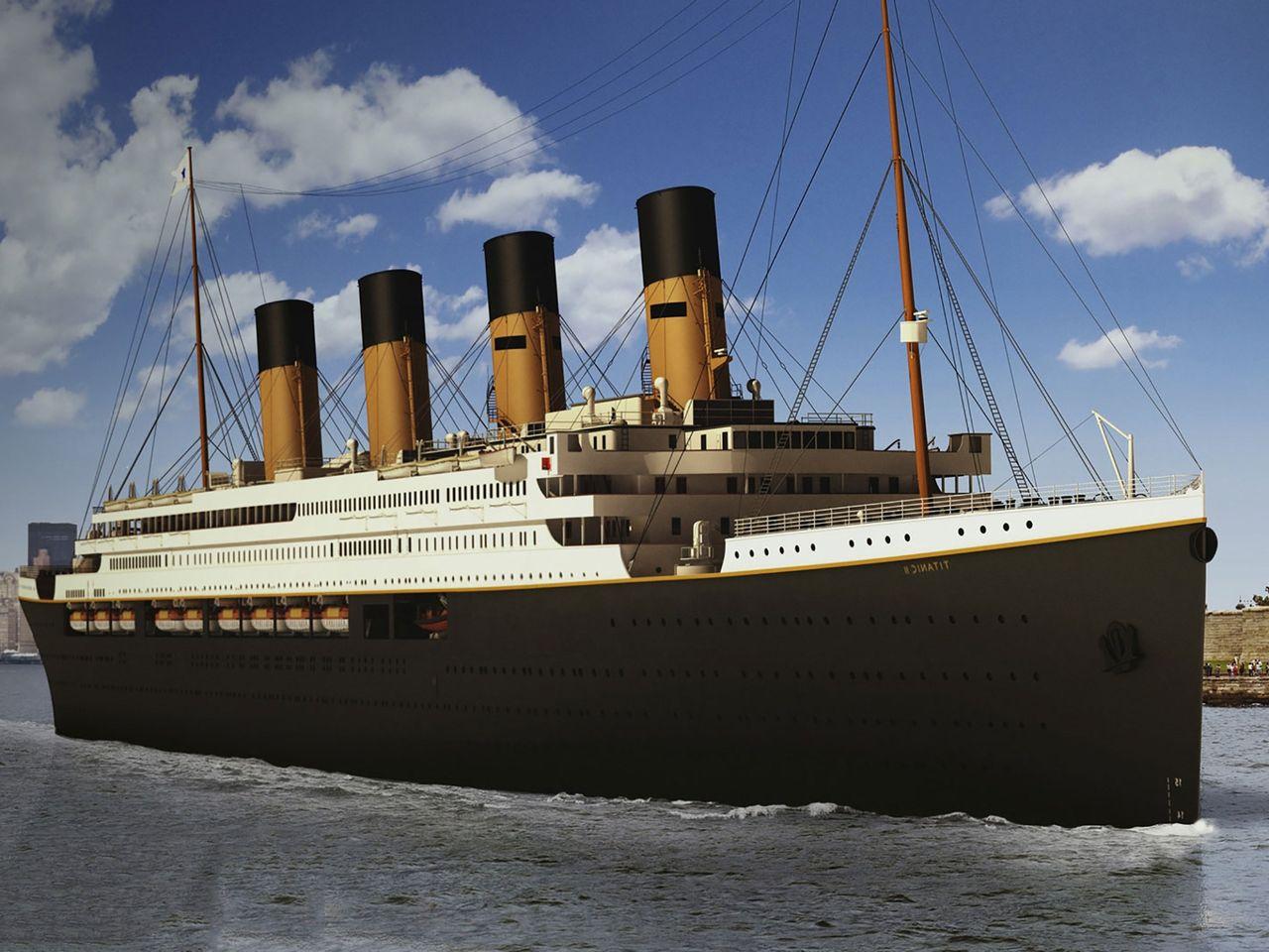 En närmare titt på Titanic II