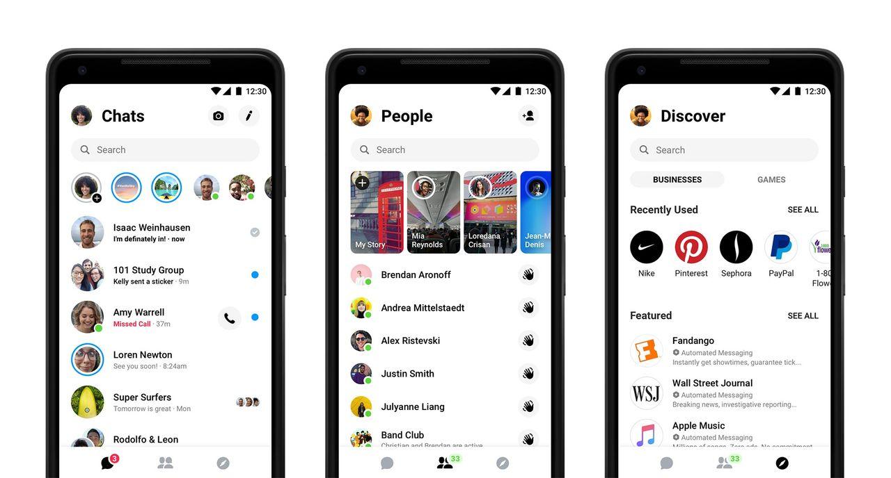 Facebook har rensat upp i Messenger