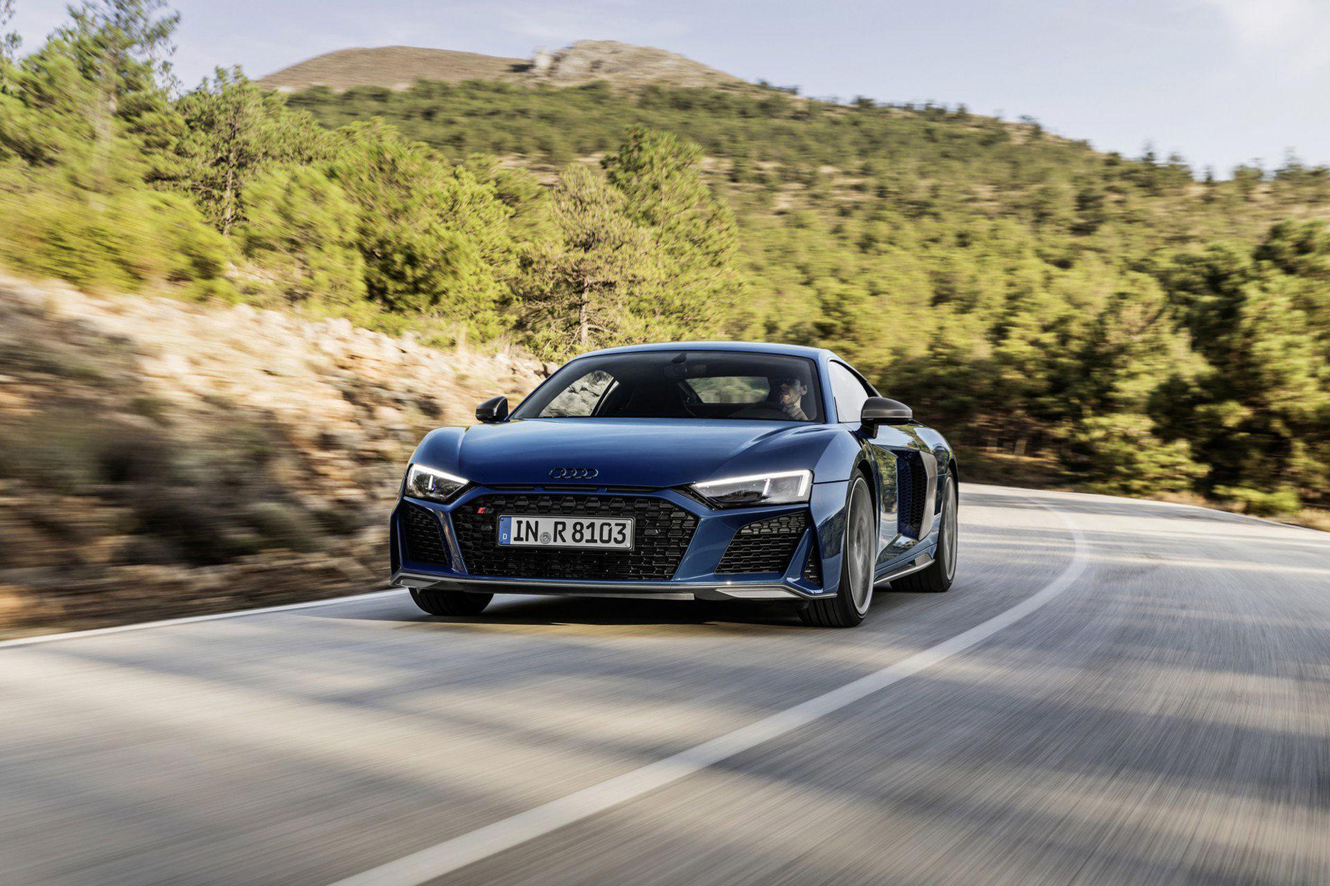 Audis uppdaterade R8 är här