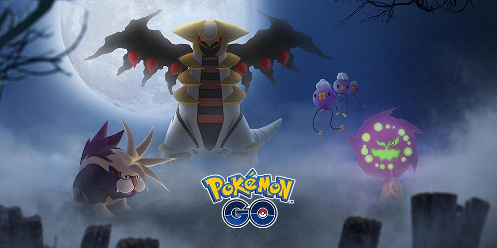Pokémon Go firar Halloween