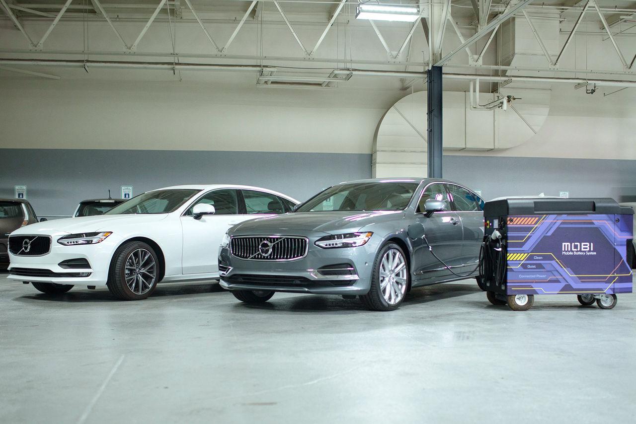 Volvo investerar i elbilsladdningsföretag